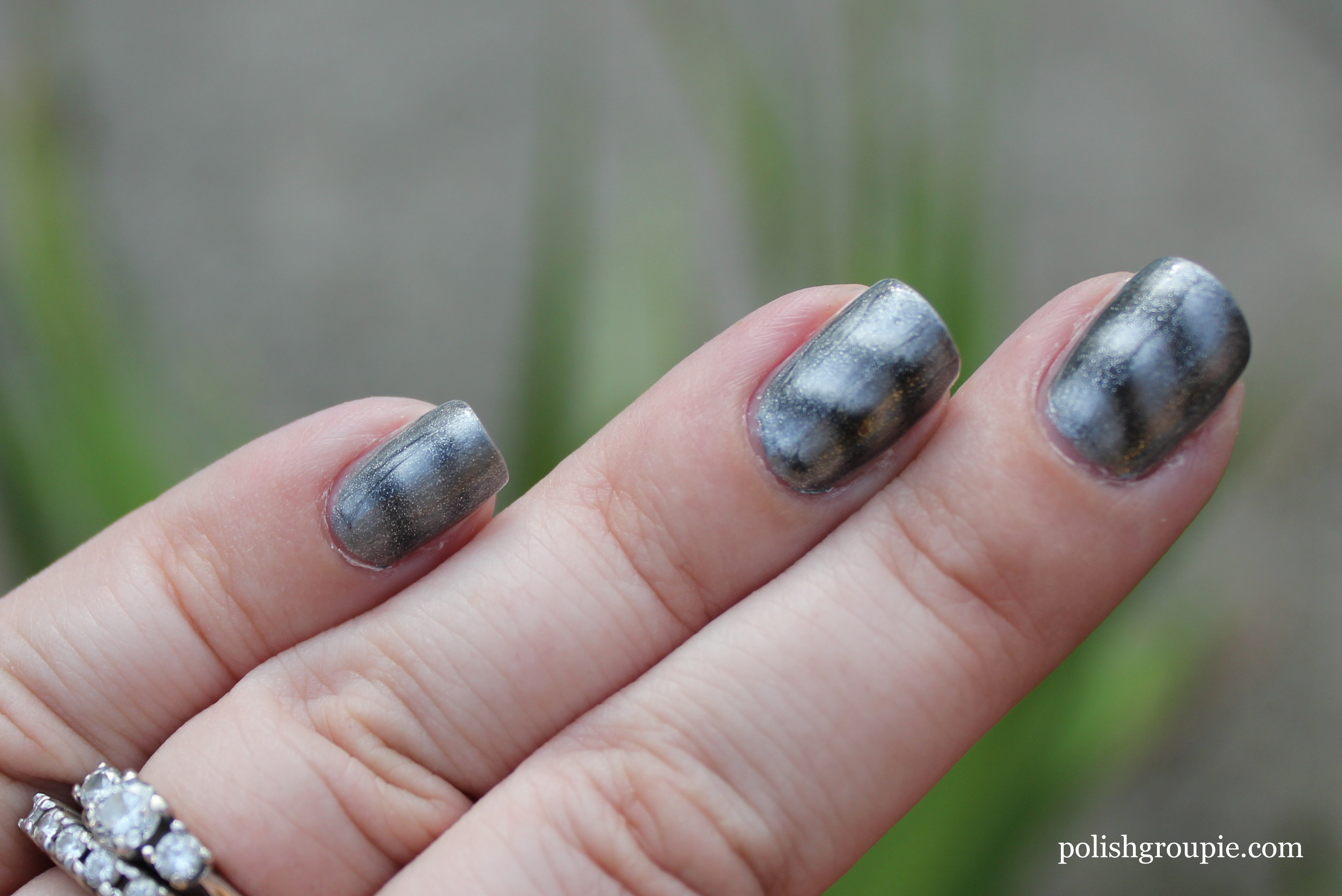 Sally Hansen Magnetic Nail Color Silver Elements | Polish Groupie