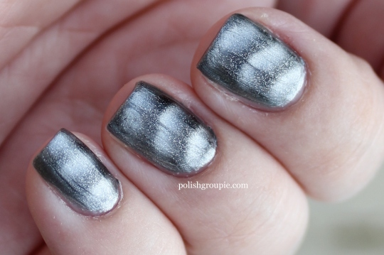 Sally Hansen Magnetic Nail Color Silver Elements magnetic nail polish