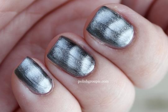Sally Hansen Magnetic Nail Color Silver Elements magnetic nail polish