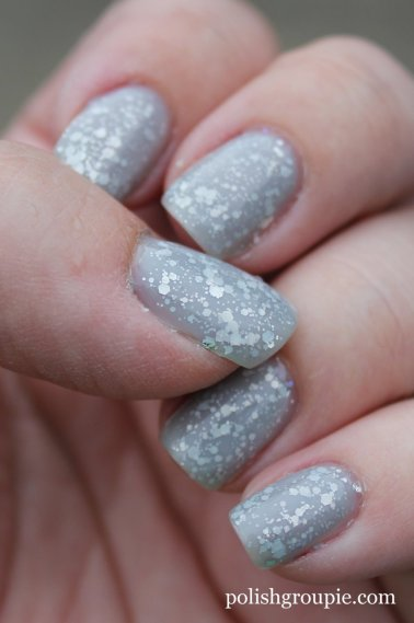 Jelly Sandwich: Essie Set In Stones with OPI My Pointe Exactly