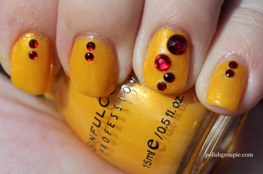 Sinful Colors Let's Meet yellow nail polish