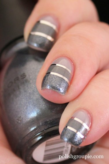Sinful Colors Hot Wired, Sinful Colors Slate, OPI My Pointe Exactly