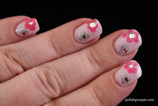 Flower Nail Art with A-England Iseult