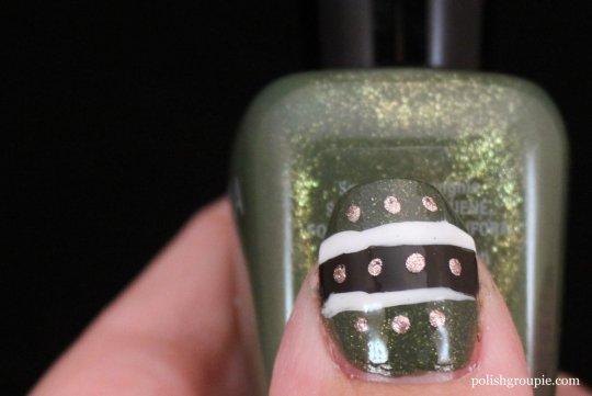 tribal nail art with Zoya Yara and Zoya Codie