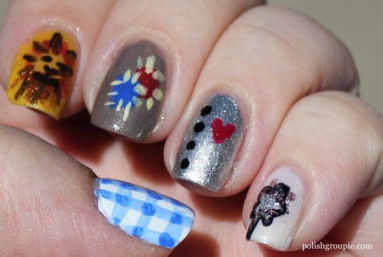 Wizard Of Oz Nail Art