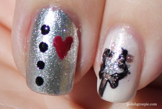 Tin Man, Good Witch Wizard Of Oz Nail Art