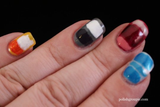 Mark Rothko Nail Art