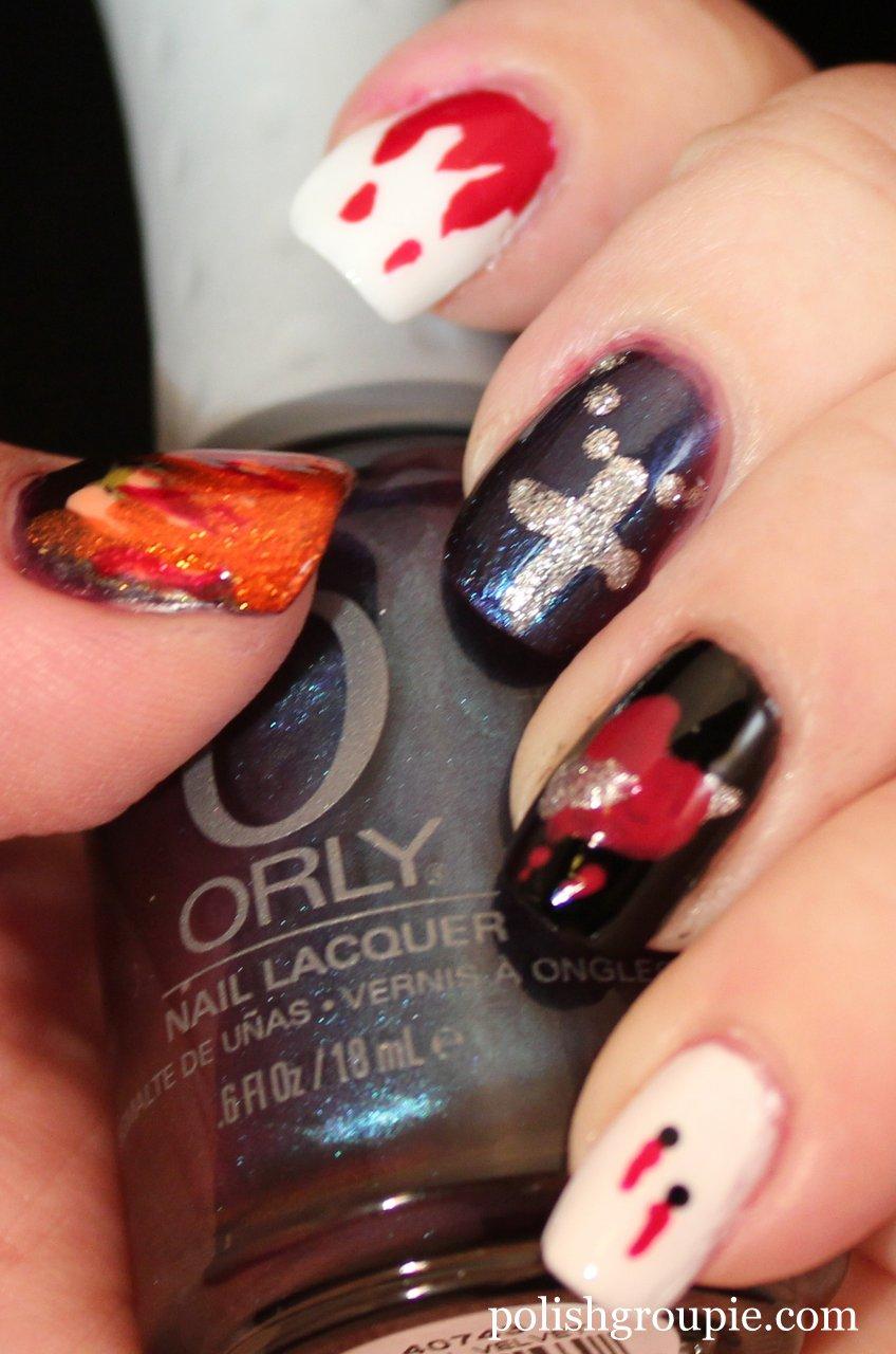 Vampire nail polish images vampire nail polish vampire nail art vampire nail art source abuse report prinsesfo Choice Image