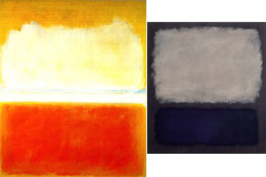 Mark Rothko paintings