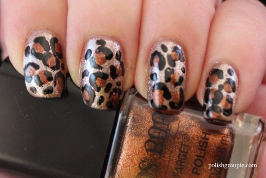 Sinful Colors Zincing Of You Leopard Print Nail Art