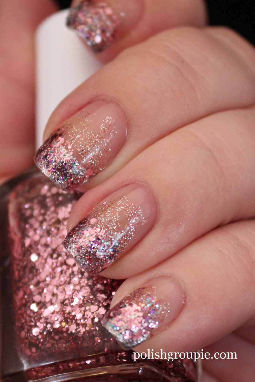 Polish Us Pink – Pink Glitter Gradient | Polish Groupie