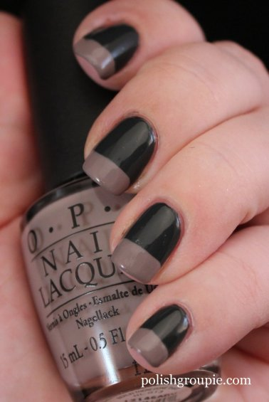 OPI Nein! Nein! OK Fine! with Berlin There Done That