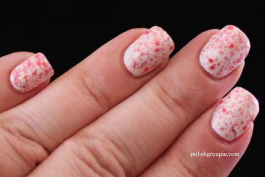 Different Dimensions On Wednesday's We Wear PINK indie nail polish