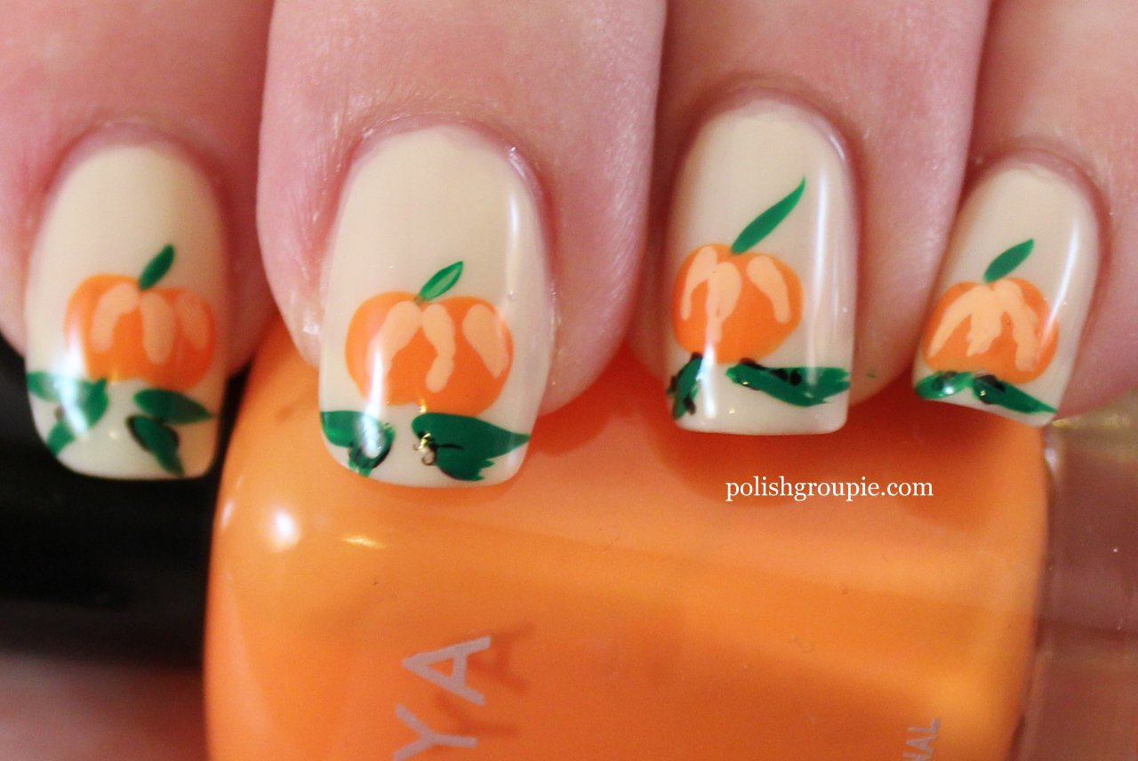 Halloween Fall Nail Art