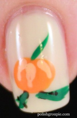 Pumpkin Halloween Fall Nail Art