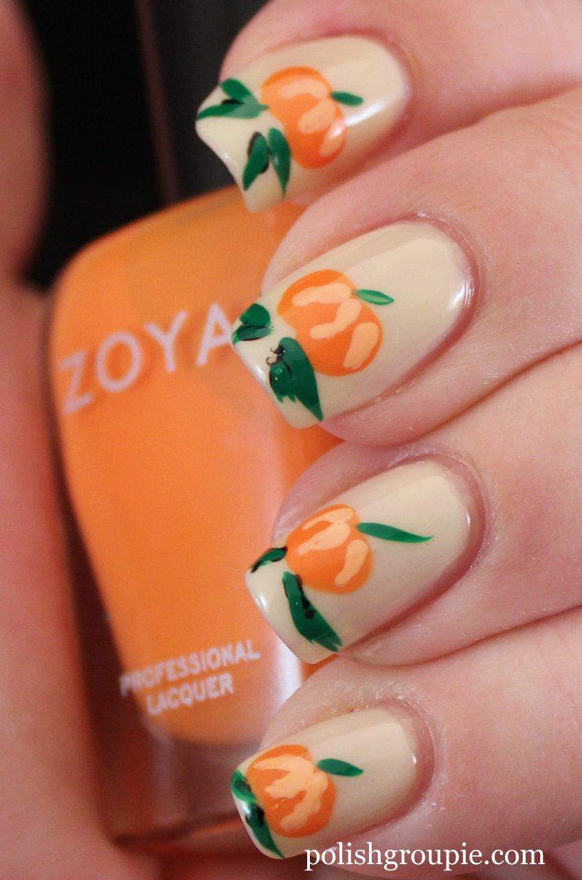 Nail-aween Nail Art Challenge: Pumpkin Nail Art | Polish ...