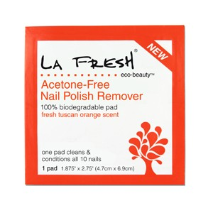 La Fresh Eco Beauty Acetone-Free Nail Polish Remover