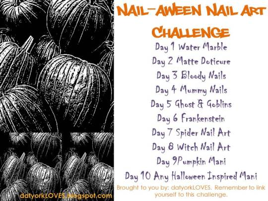 Nail-aween Halloween Nail Art Challenge
