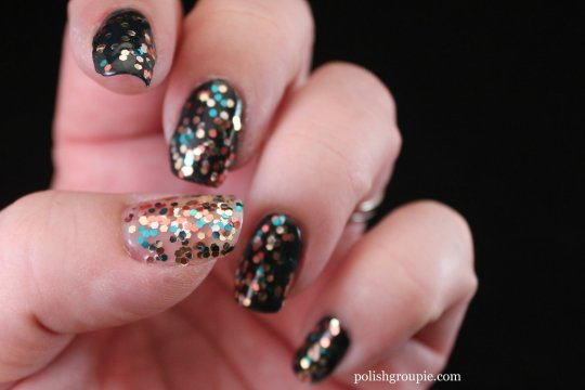 OPI The Living Daylights over Live And Let Die