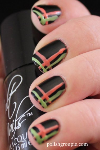 Cult Nails Fetish with Stripes