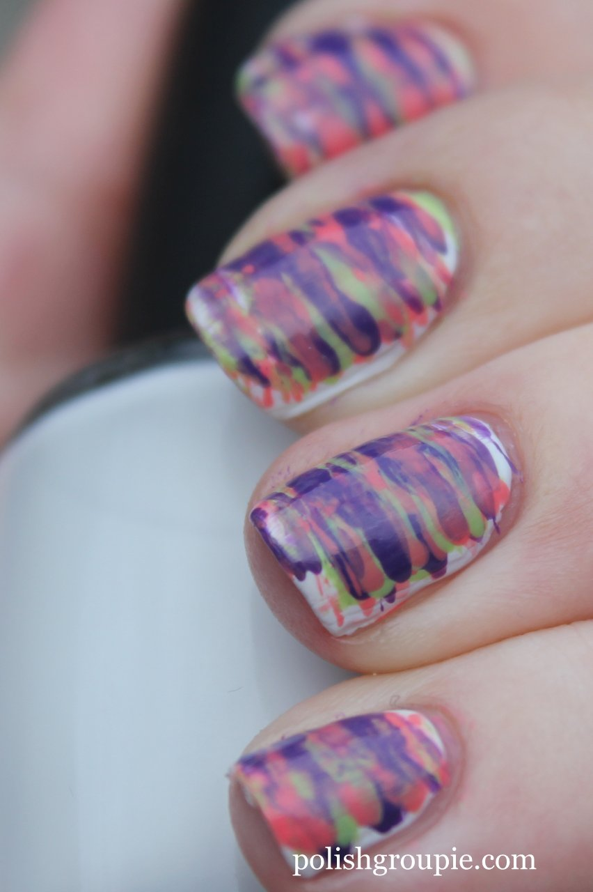 Fan brush polish groupie fan brush striped nail art prinsesfo Image collections